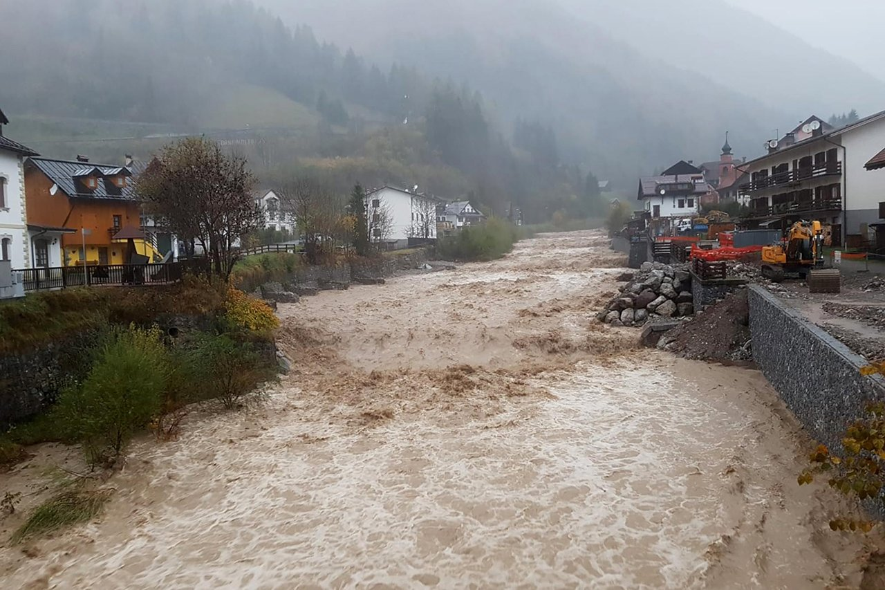 наводнение италия