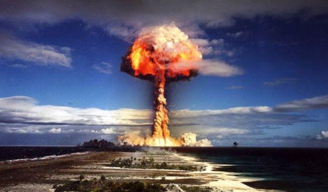 ядерные испытания.