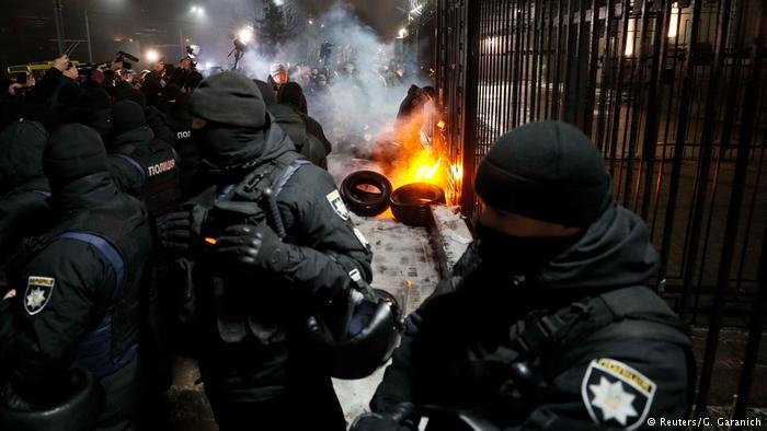 протесты против РФ
