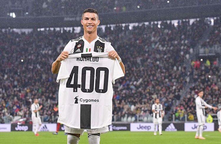 Роналду 400 голов
