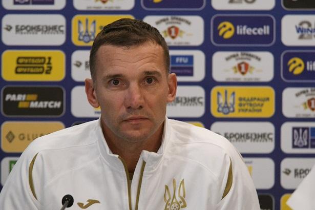 Шевченко пресс конференция