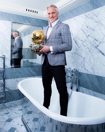 Давид Жинола Золотой мяч