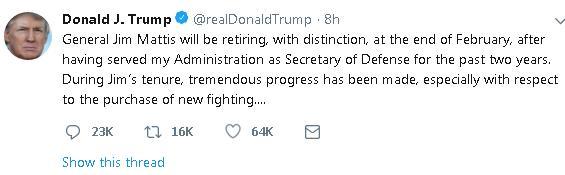 дональд трамп твит