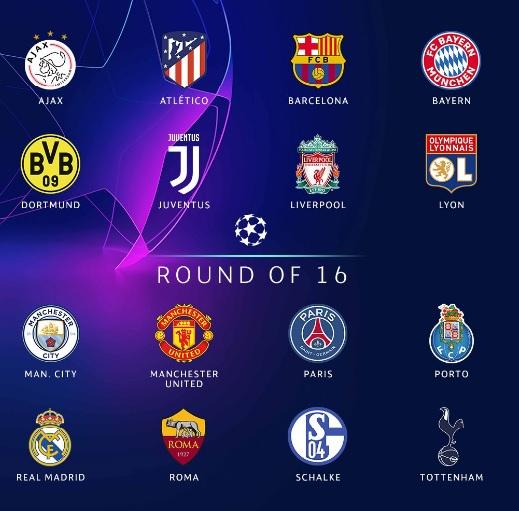 Лига чемпионов плей офф