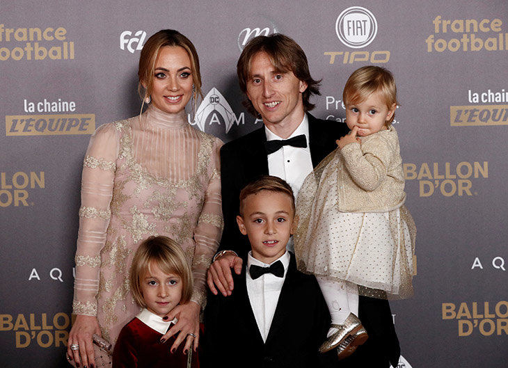 Модрич и семья