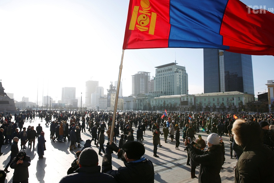 Монголия два.