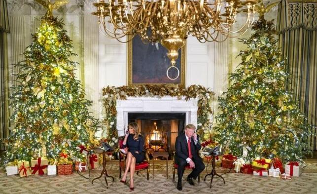 трамп и мелания