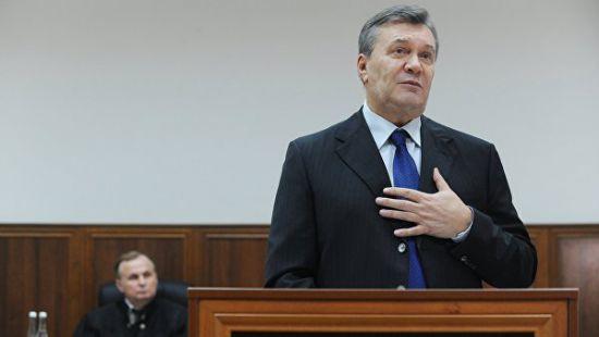 Янукович судл