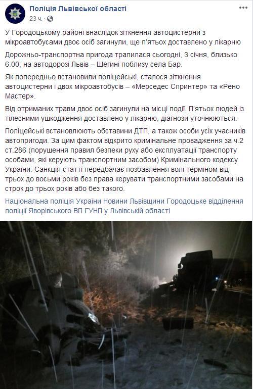 полиция Львовской обл