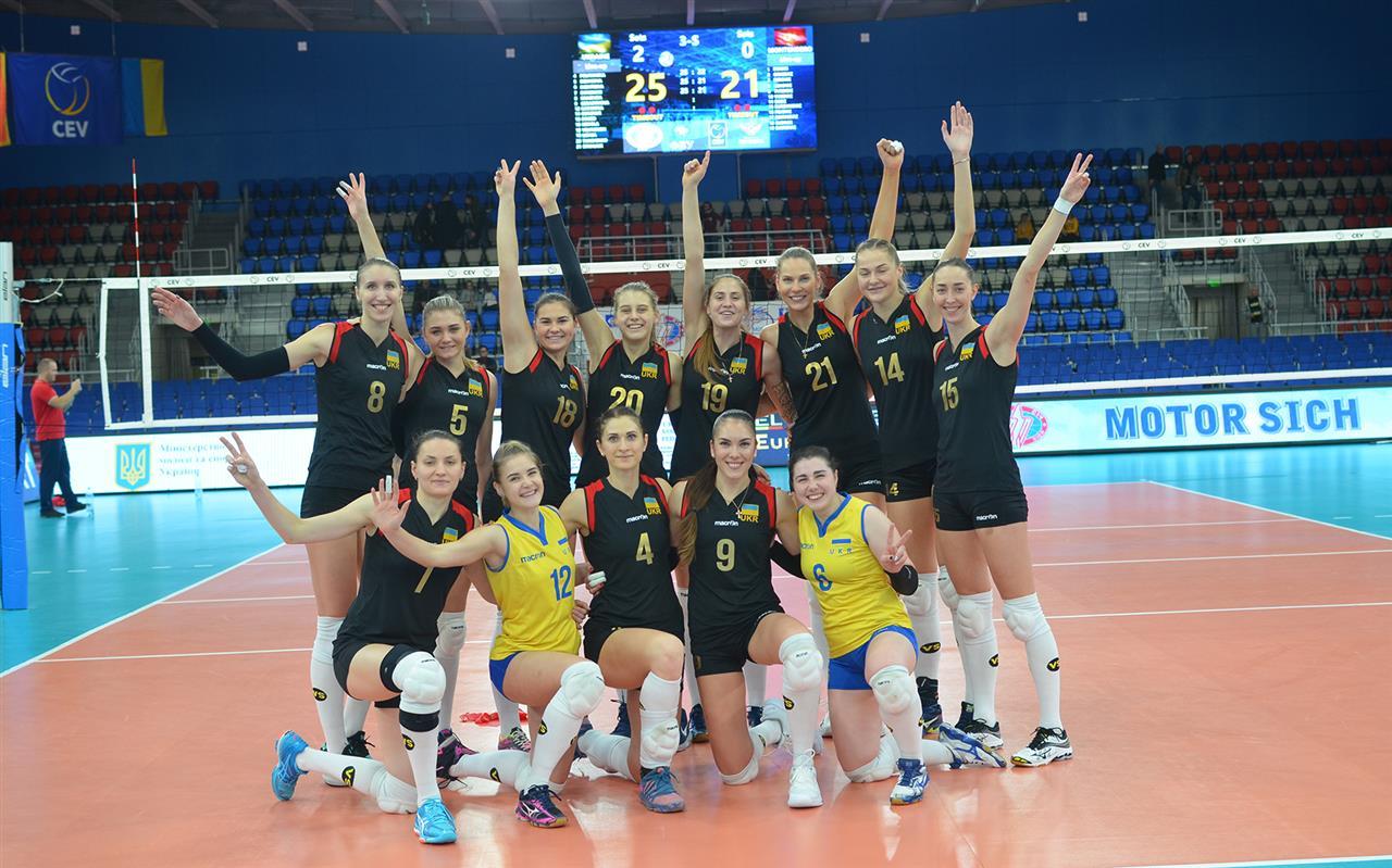 Волейбол сборная Украины ж