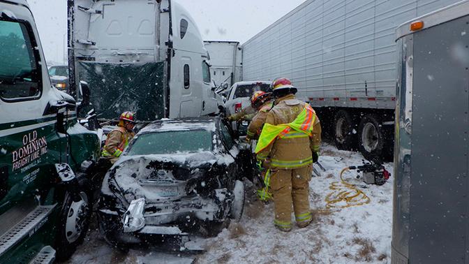 авария на шоссе