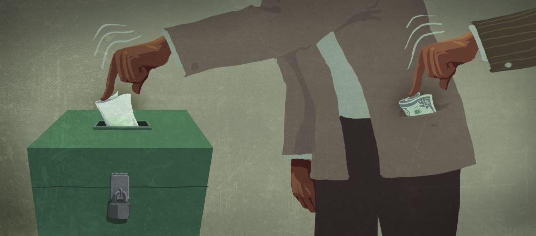 подкуп избирателя