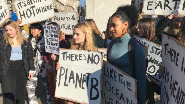 протест школьников
