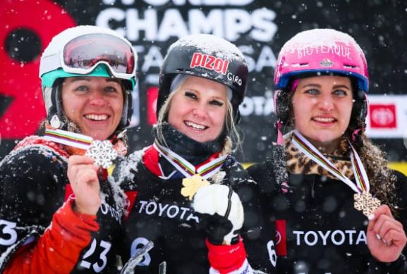 сноуборд чемпионат мира подиум