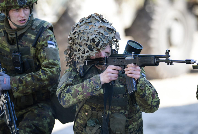 военные Эстонии