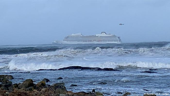 корабль в Норвегии