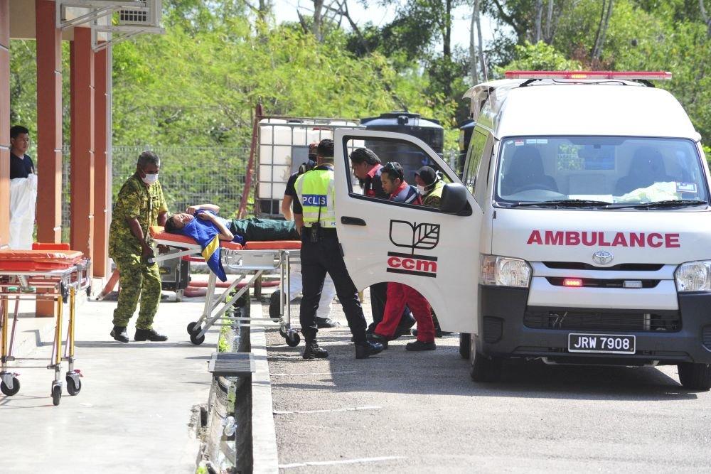Малайзия госпитализация