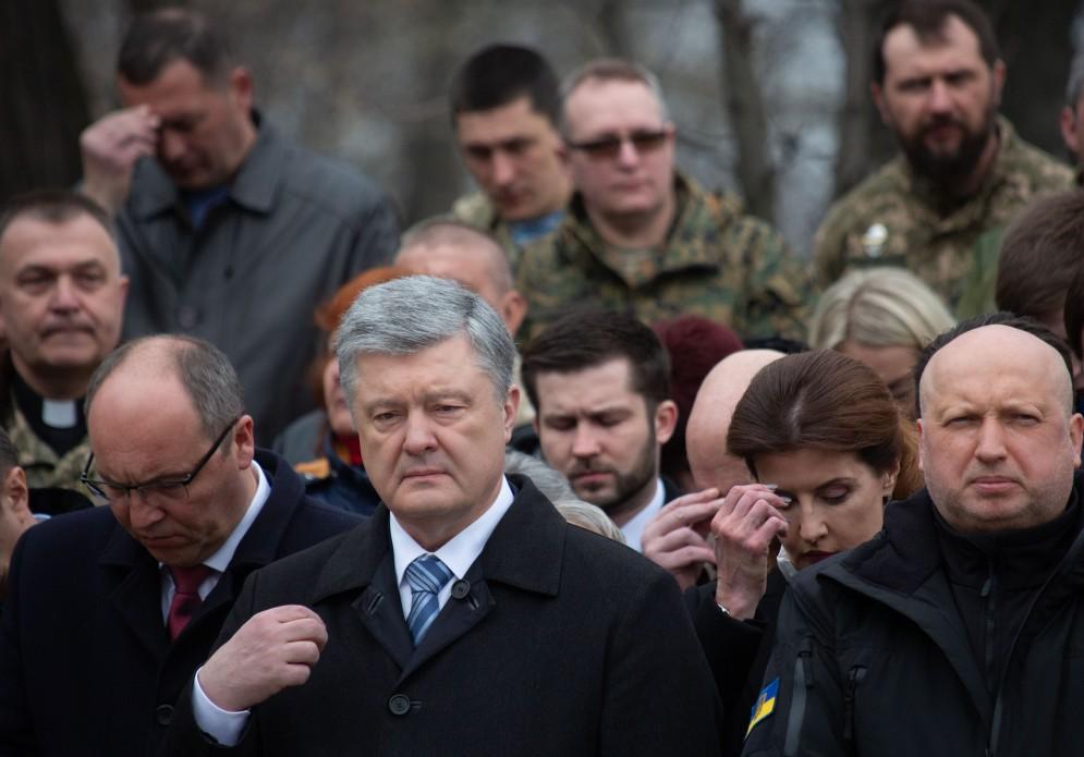 молебен за Украину.