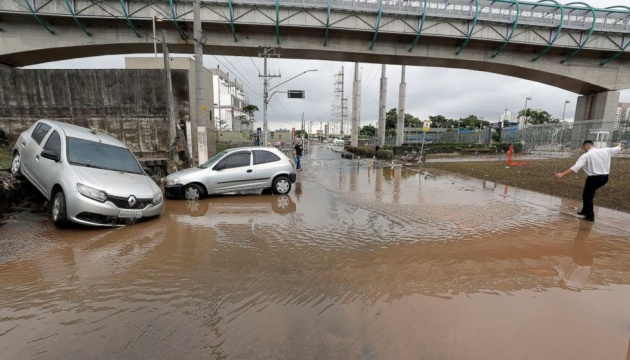 наводнение Бразилия