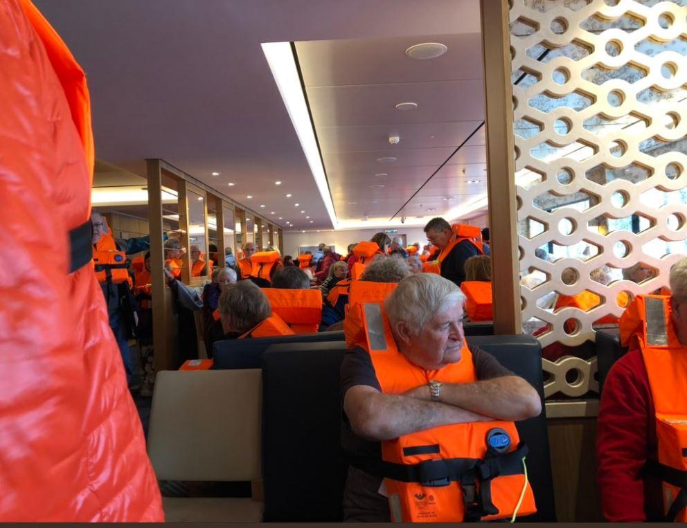 пассажиры корабля