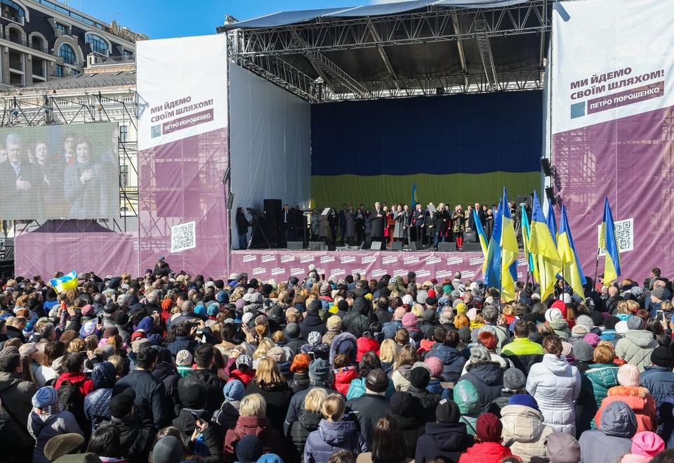 Порошенко в Киеве.