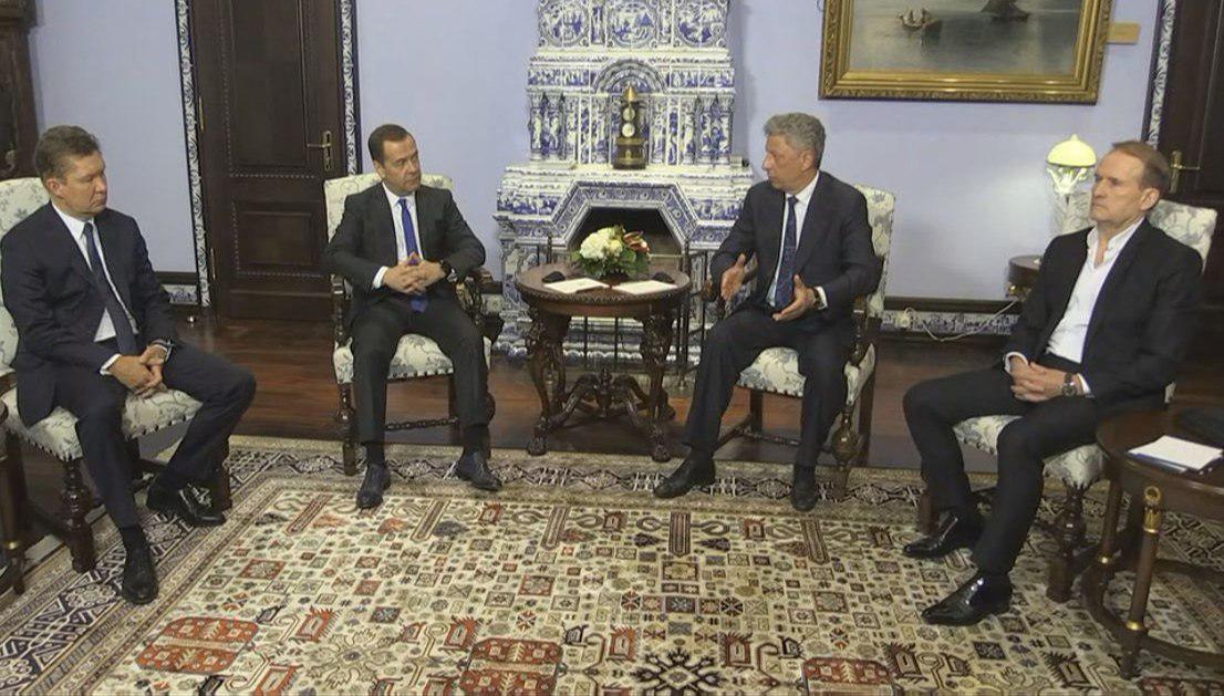 встреча Бойко и Медведева