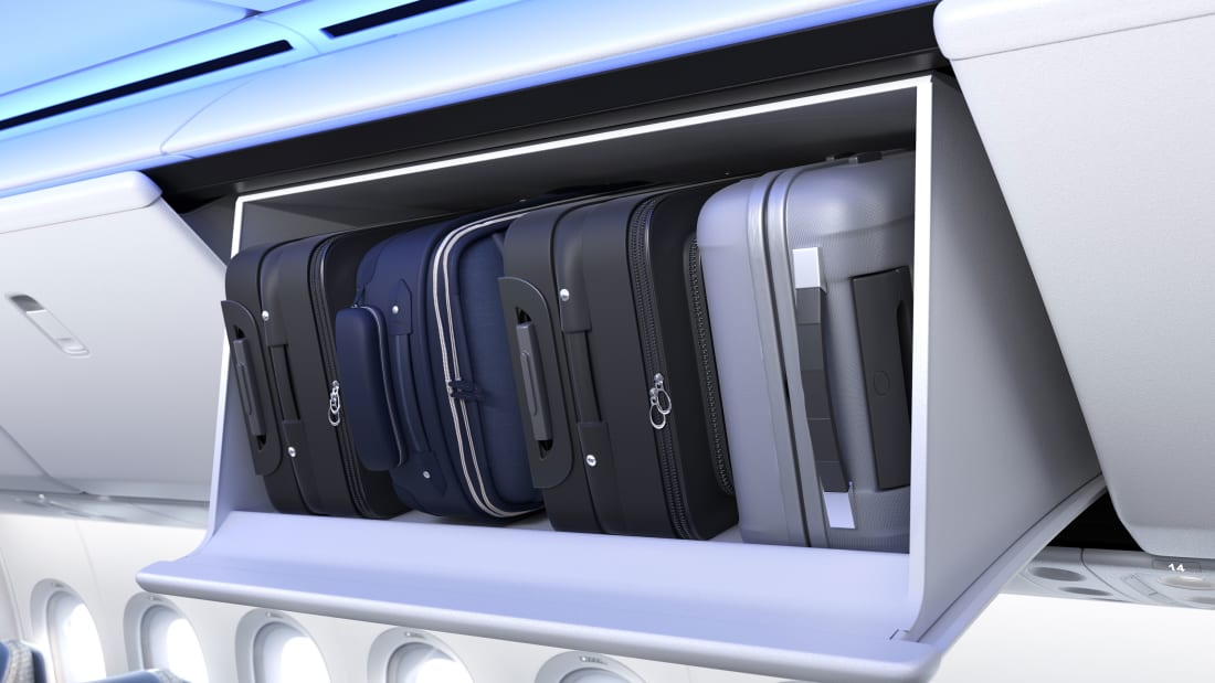 Boeing 777X bags