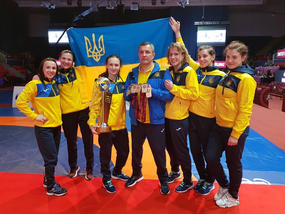Борьба команда Украины