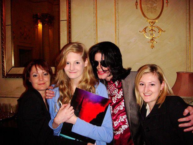 Джексон с детьми