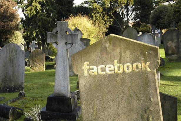 фейсбук кладбище