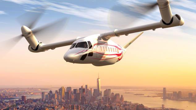 Гибрид самолёта и вертолёта