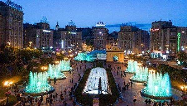 Киевские фонтаны