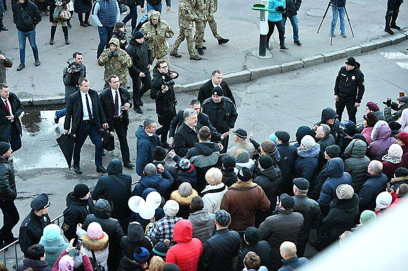 побег Порошенко