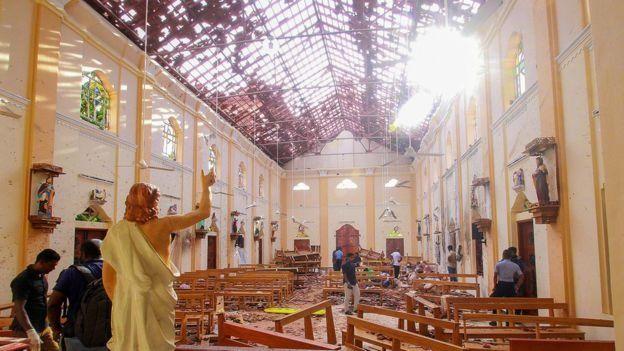 Взрывы Шри-Ланка