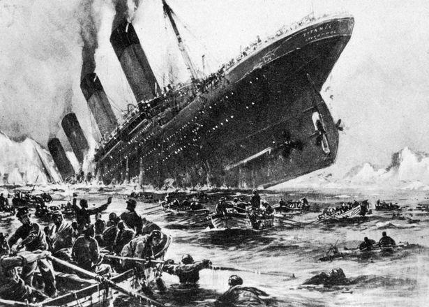 затопление Титаника