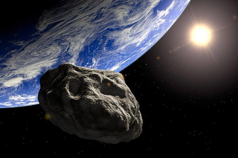 астероид возле Земли