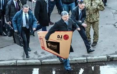 порошенко и телевизор