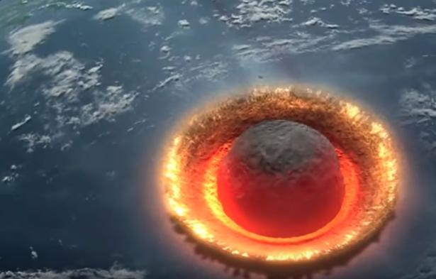 удар по Земле
