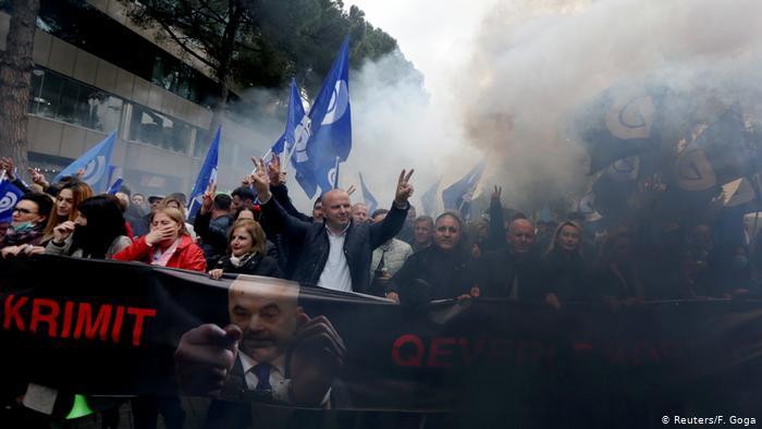 албания протесты