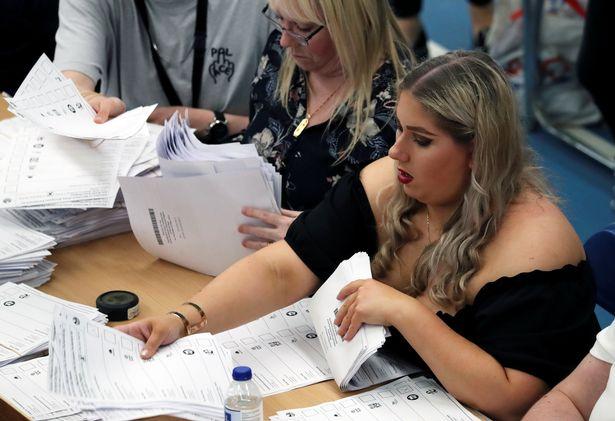 голосование Британия