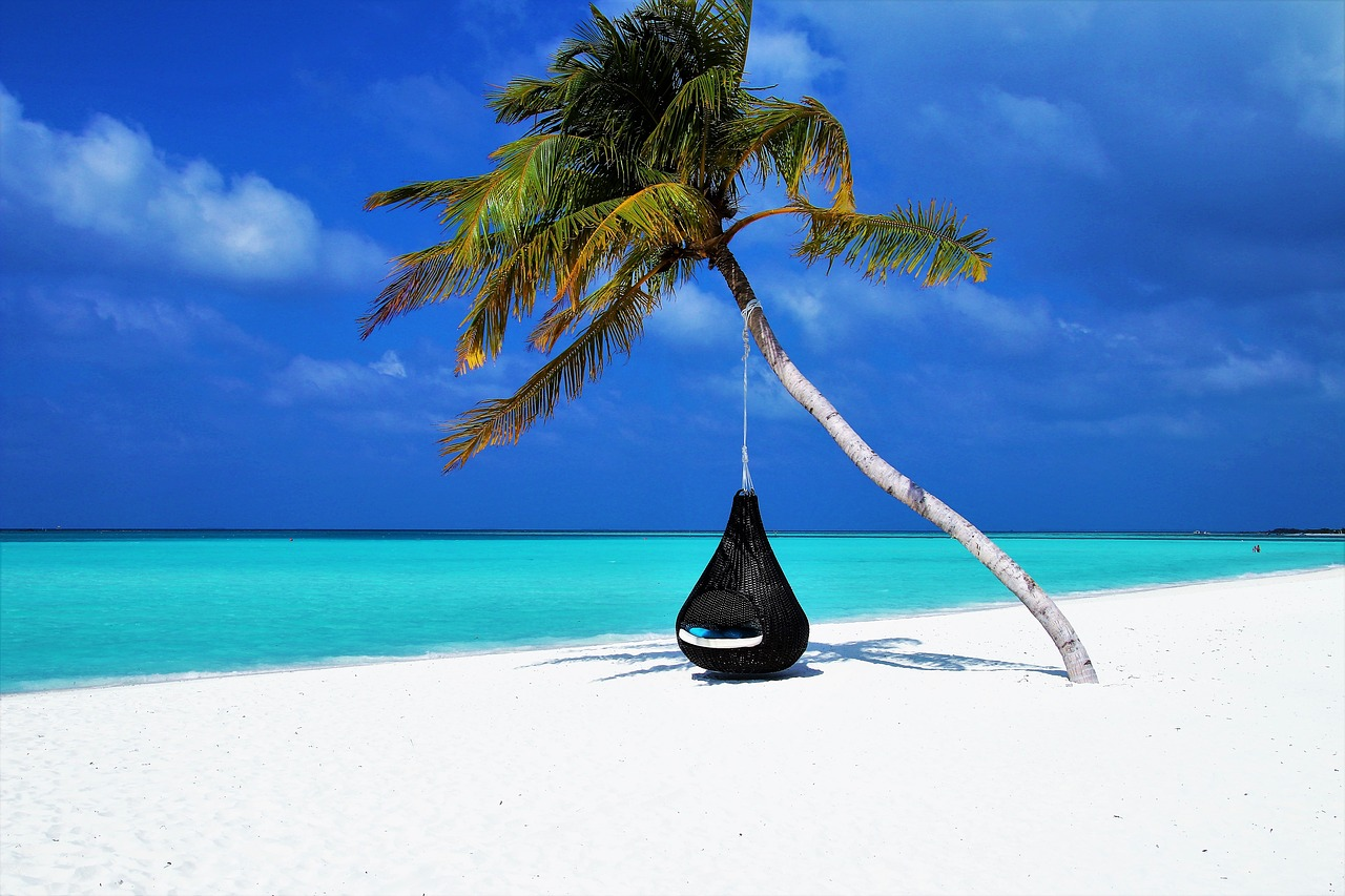 Мальдивские острова пляж