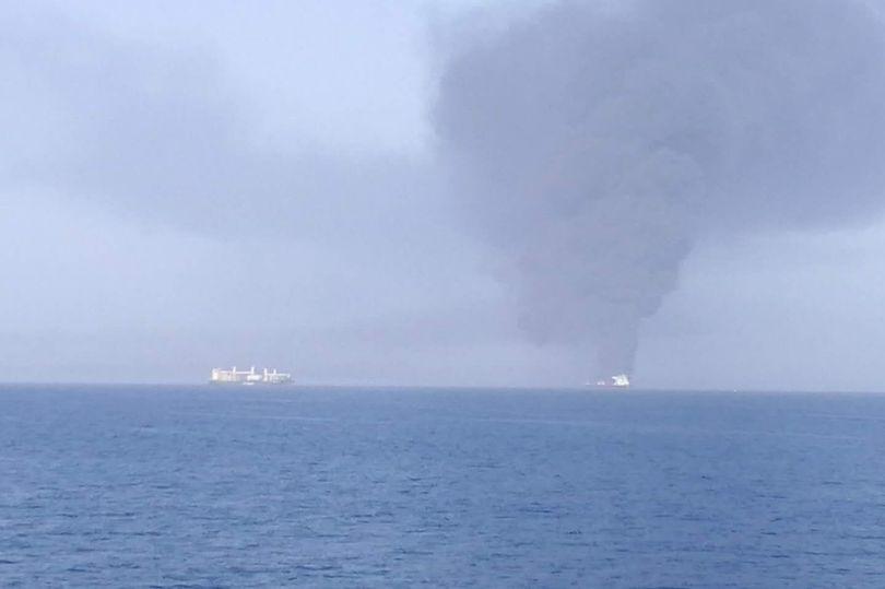 пожар на танкерах