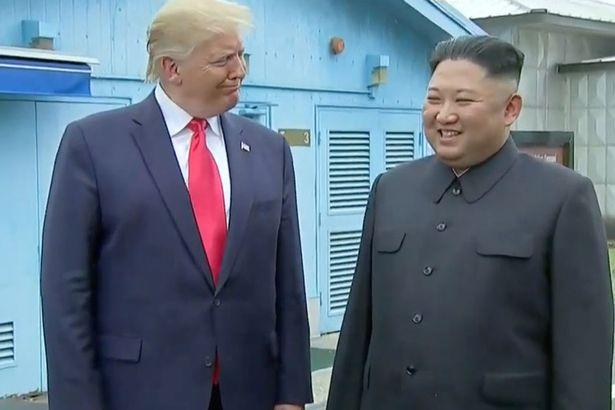 Трамп и Чен Ын