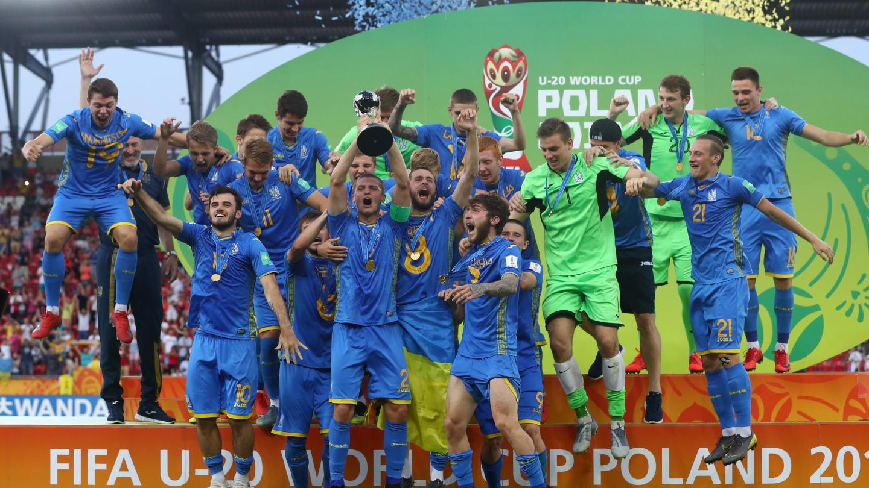Украина U20 триумф