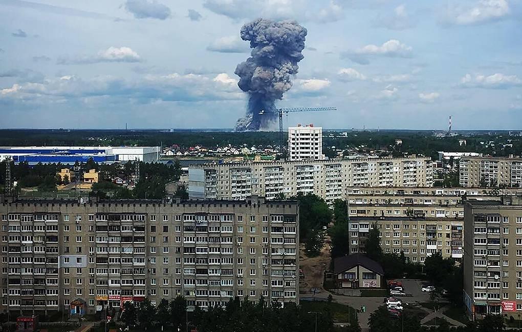 взрыв Россия