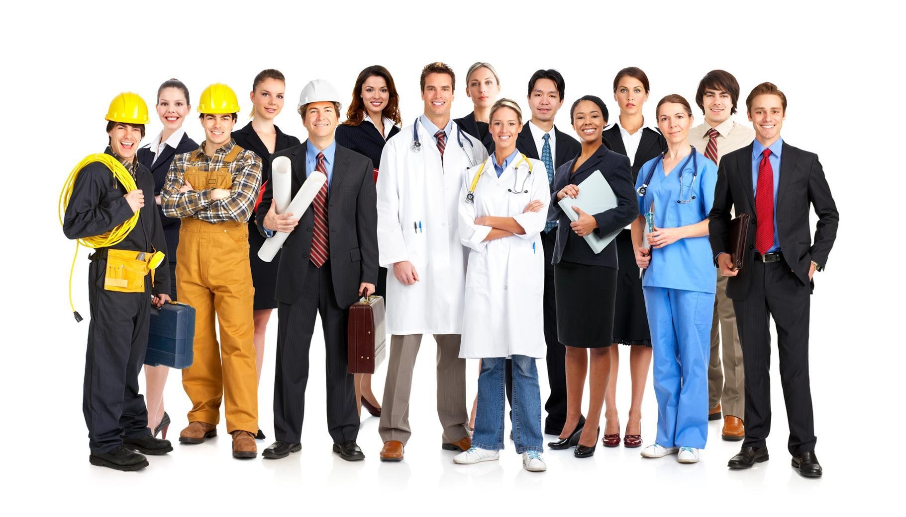 молодые работники