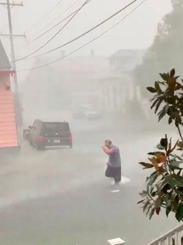 наводнение Новый Орлеан
