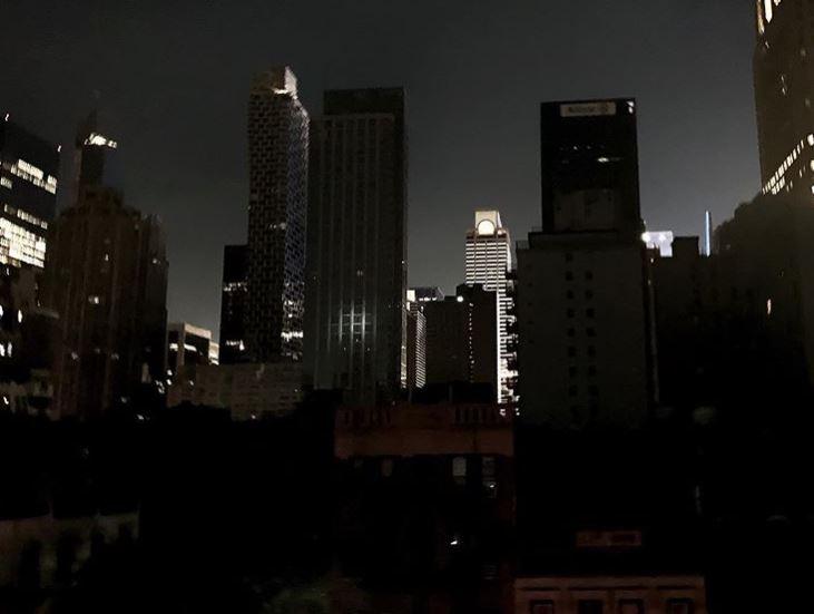 Нью-Йорк без света