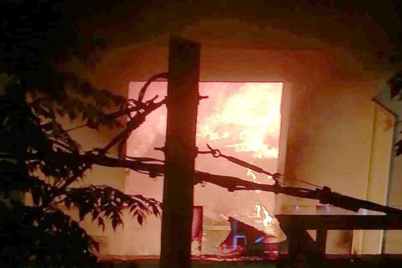 пожар Испания