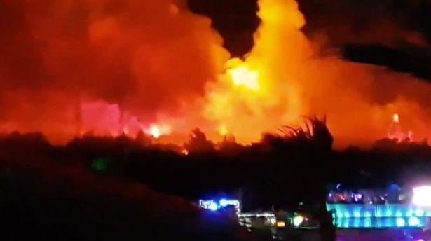 пожар на фестивале